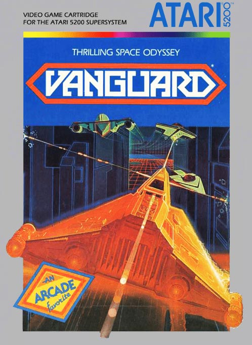 Vanguard, a home video game for the Atari 5200 game console