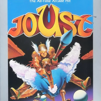 Joust, a video game for the Atari 7800