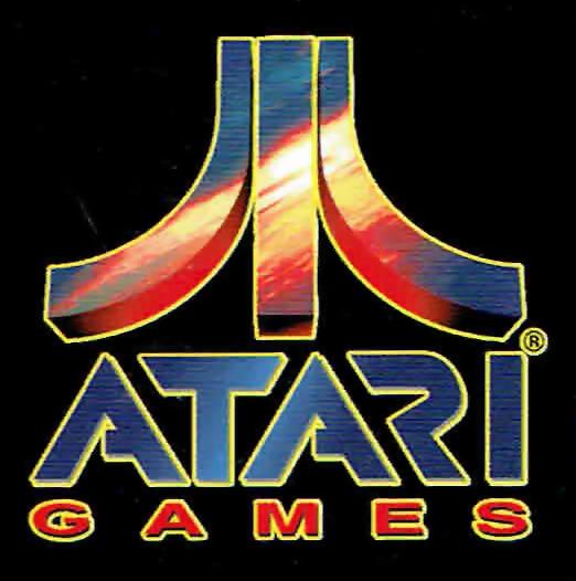 Logo for Atari Games, a video game company
