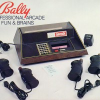 Cover of the manual for the Bally Professional Arcade, a home video game system by Bally 1978