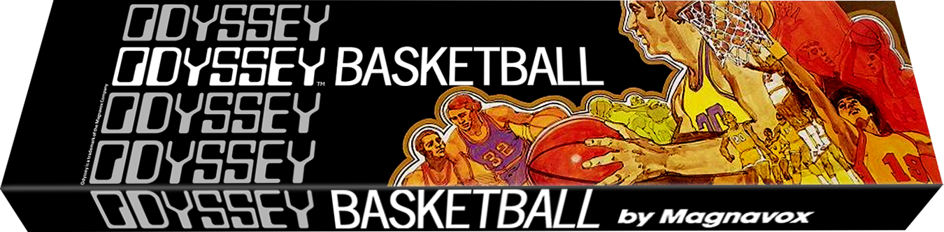 Basketball, a video game for the Magnavox Odyssey, first home video game system
