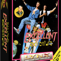 Bill & Ted's Excellent Adventure, a video game for the Atari Lynx portable game system