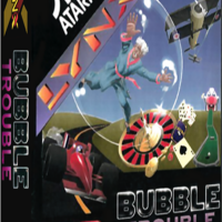 Bubble Trouble, a video game for the Atari Lynx portable video game system