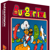 Burgertime, a home video game for the Mattel Intellivision video game system