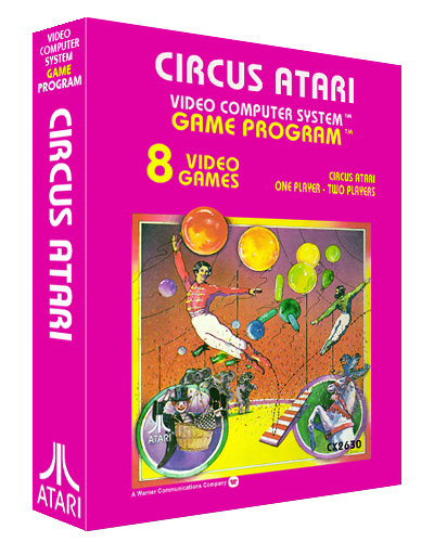Circus Atari, a video game for the 2600 video game console