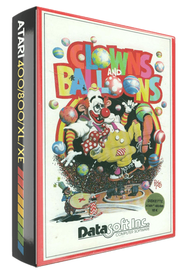 Clowns and Balloons, a computer video game for Atari 8-bit computers