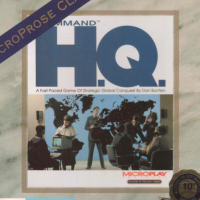 Command H.Q., a computer video game by Microprose for IBC PC computer compatibles