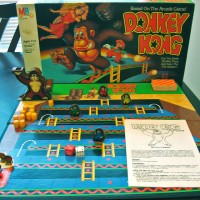 Board game based on Donkey Kong, an arcade video game by Nintendo 1981