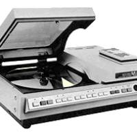 Pioneer PR-7820 laserdisc player used in Dragon's Lair, an arcade laserdisc video game by Starcom/Cinematronics 1983