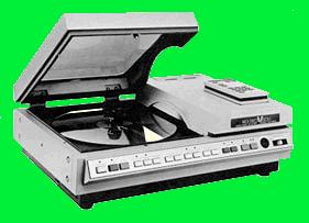 Pioneer PR-7820 laserdisc player used in Dragon's Lair, an arcade laserdisc video game by Starcom/Cinematronics 1983