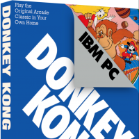 Donkey Kong, a video game for the IBM Personal Computer by Atarisoft