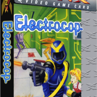 Electrocop, a video game for the Atari Lynx portable video game console