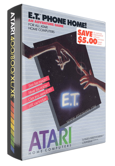 E.T. Phone Home!, a computer video game for Atari 8-bit computer systems