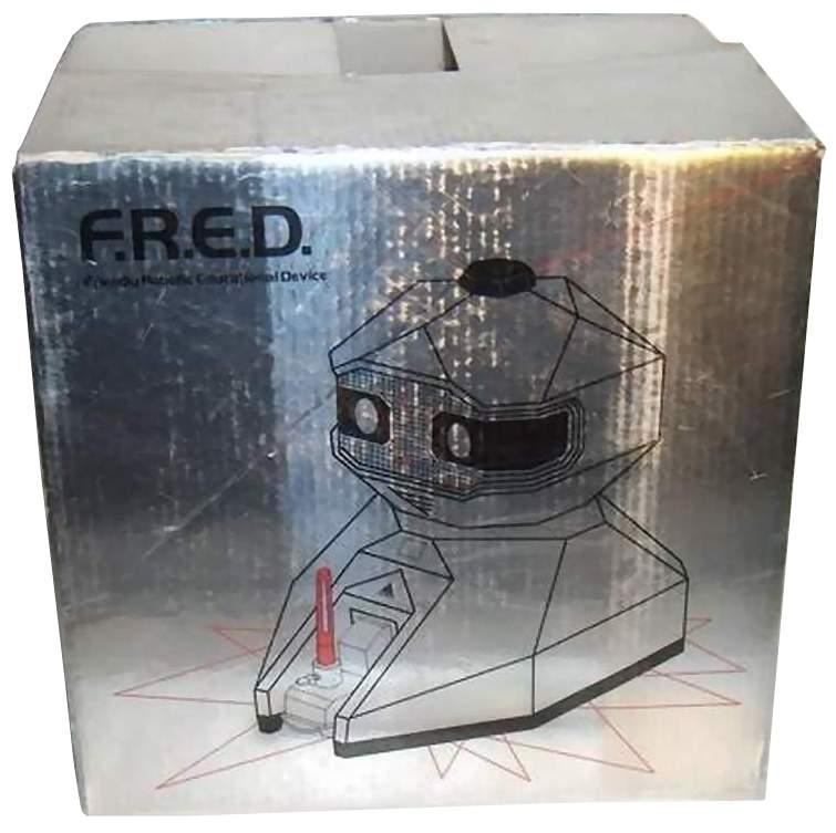 F.R.E.D., a personal robot by Axlon