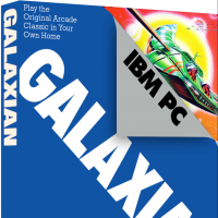 Galaxian, a video game for the IBM Personal Computer