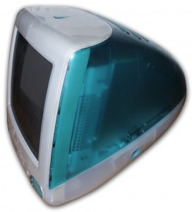 Original iMac, a personal computer by Apple 1998