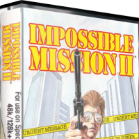 Impossible Mission II, a computer platform game for the ZX Spectrum