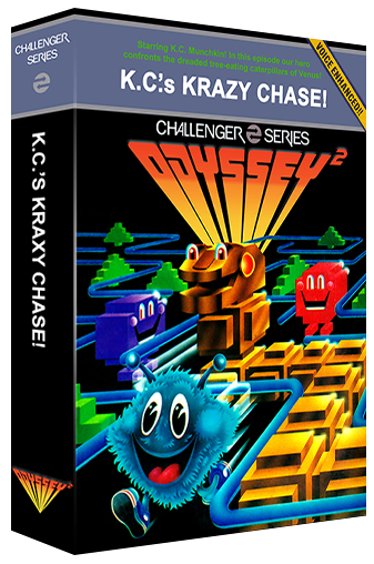 K.C.'s Krazy Chase!, a maze video game for the Odyssey 2 video game console