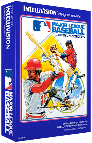Major League Baseball, a sports video game for the Intellivision video game system
