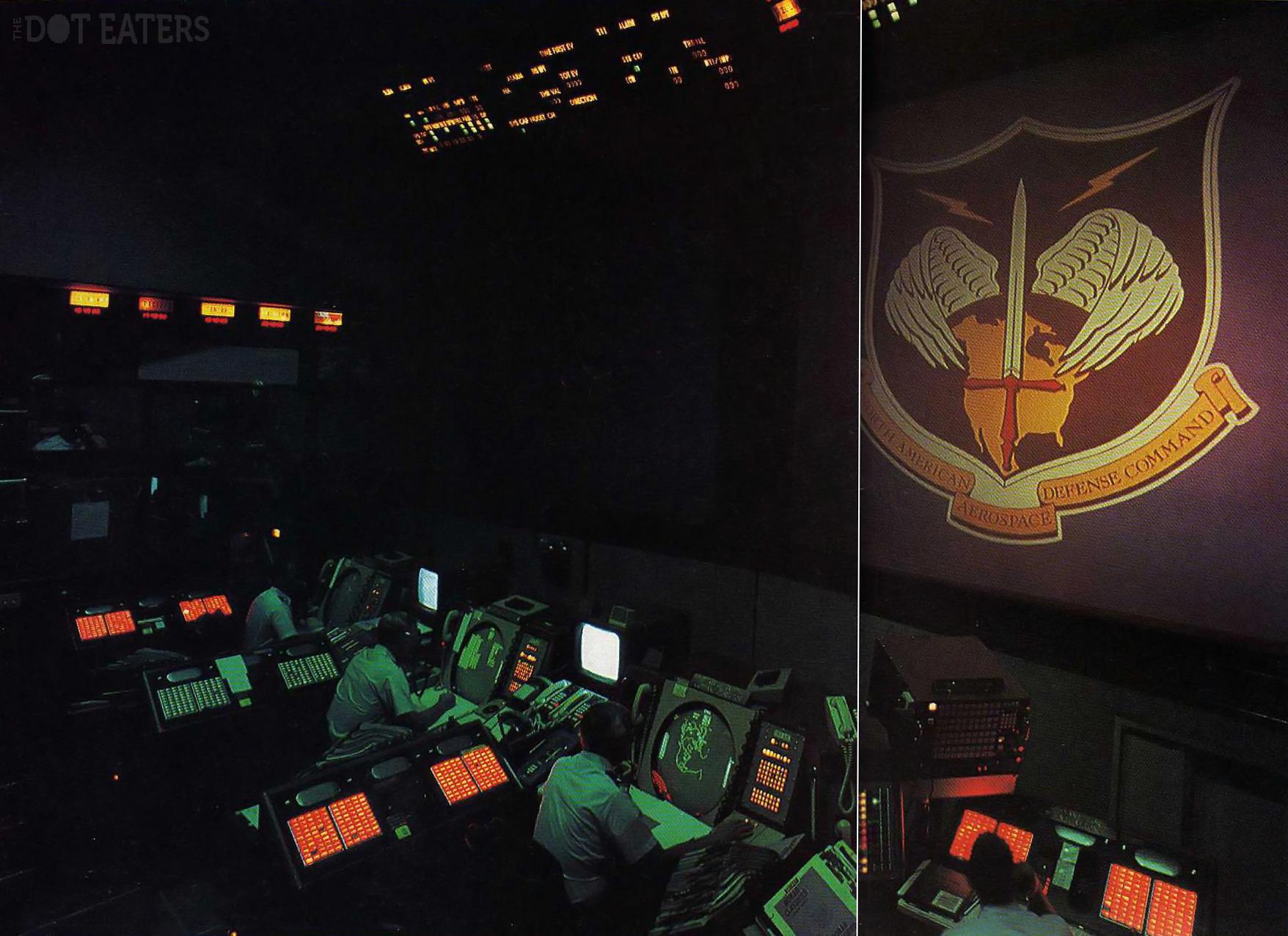 NORAD Command Post, 1986