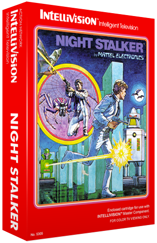 Night Stalker, a video game for the Mattel Intellivision video game system
