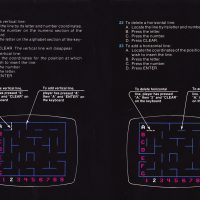 Pages from the manual for K.C. Munchkin, a home video game for the Odyssey 2