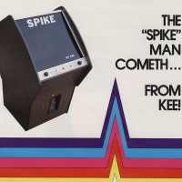 Sales flyer for Spike, a coin-op video game by Kee Games, 1974