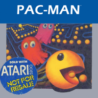 Pac-Man video game for the Atari 5200 home video game console