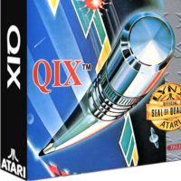 QIX, a video game for the Atari Lynx portable video game console