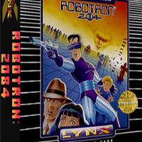 Robotron: 2084, a video game for the Atari Lynx portable video game console