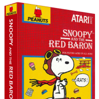 Snoopy and the Red Baron, a video game for the Atari 2600 video game console