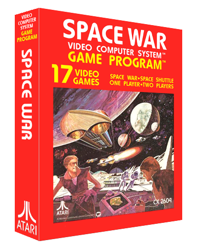 Space War, a video game for the Atari 2600 video game console