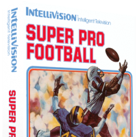 Super Pro Football, a sports video game released by INTV for the Intellivision video game console