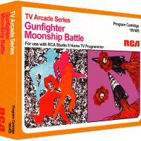 Gunfighter/Moonship Battle, a video game cartridge for the RCA Studio II video game console