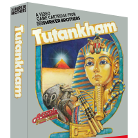 Tutankhan, a home video for the Atari 2600 video game console