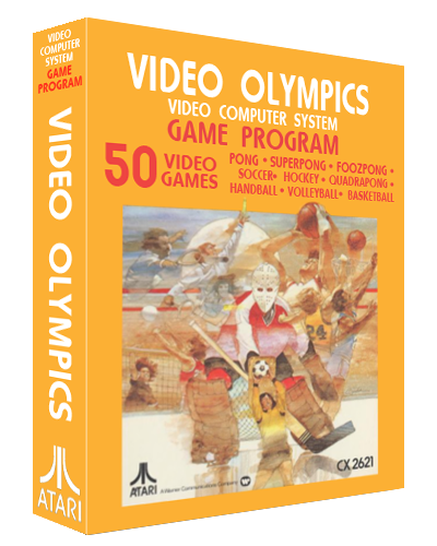 Video Olympics, a video game for the Atari VCS video game console