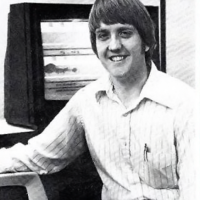 1981 image of David Crane, designer of video games at Activision
