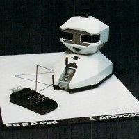 Androbot's FRED, by a company founded by Atari founder Nolan Bushnell