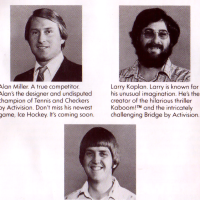 List of video game designers from the 1981 Activision game catalog