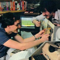 Garry and Dan Kitchen, video game designers for Activision, 1984