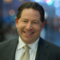 2012 photo of Bobby Kotick, CEO of Activision, a video game company