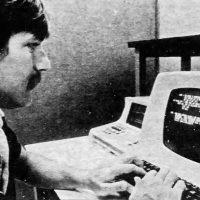 Activision video game designer Bob Whitehead, 1982