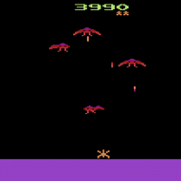Phoenix on the Atari VCS/2600, a video game by Atari 1982