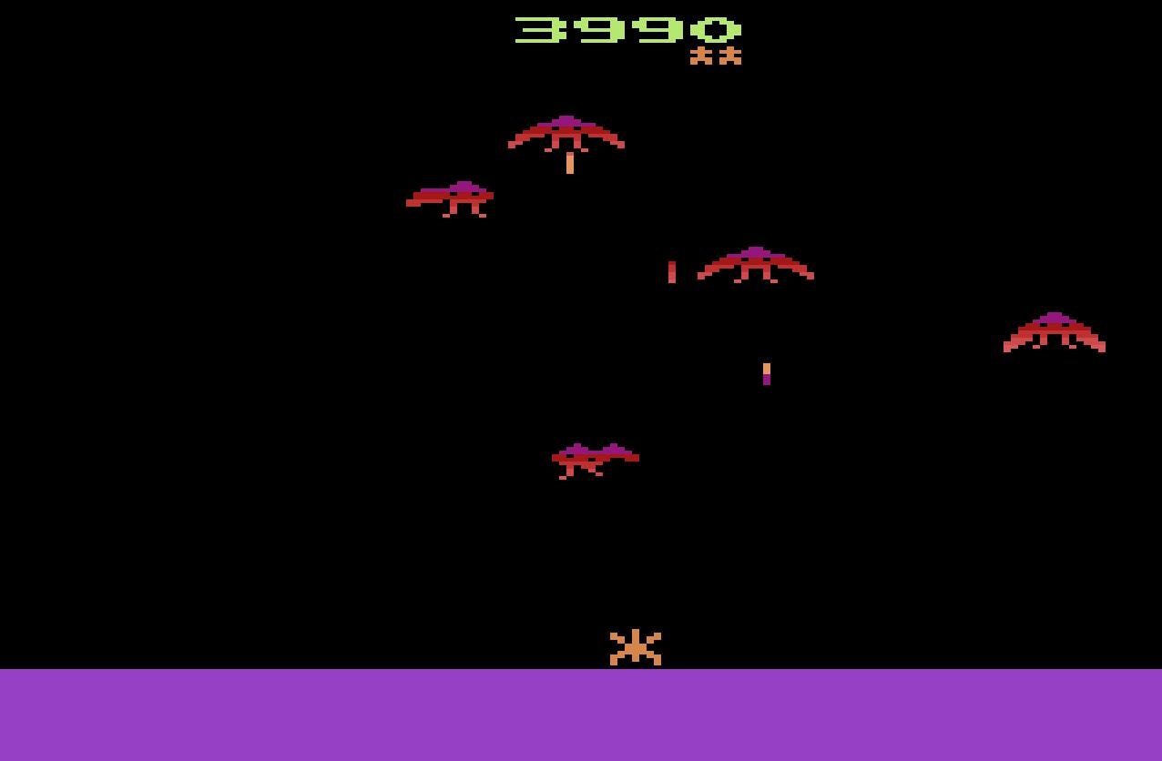 Phoenix on the Atari VCS/2600, a video game by Atari 1982