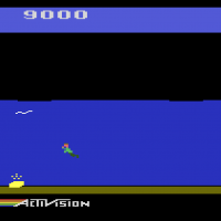 Pitfall II: Lost Caverns, Activision's video game for the Atari VCS/2600 1984