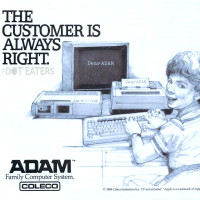 1984 ad for the ADAM, a home computer system by Coleco