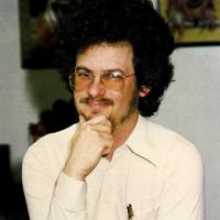 1983 image of Scott Adams, author of computer text adventure games