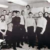 Image of the BBN IMP team, pioneers of the Internet