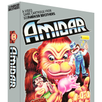 Amidar, a home video game for the Atari 2600 video game console
