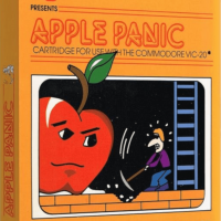 Apple Panic, a computer video game for the Commodore VIC-20 personal computer